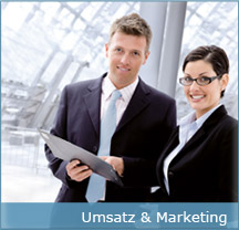 Umsatz und Marketing